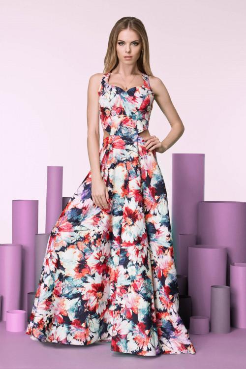 Платье 3245 красное