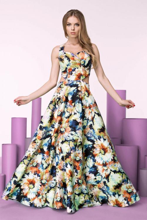 Платье 3245 желтое