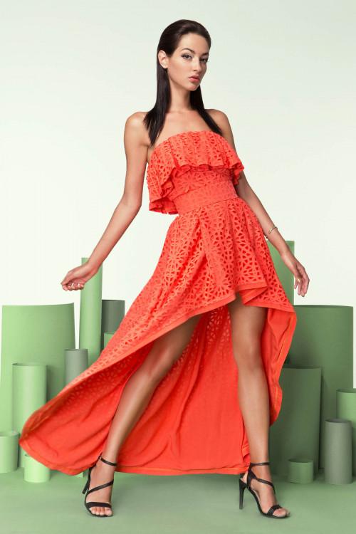 Платье 3209 коралл