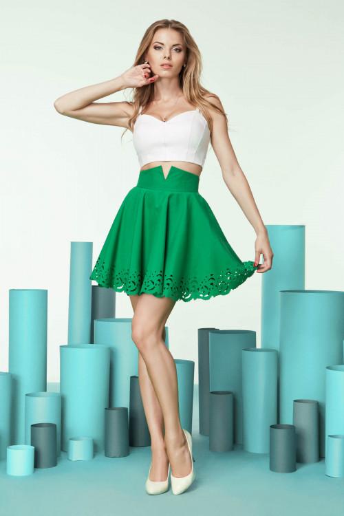 юбка 4020 зеленая