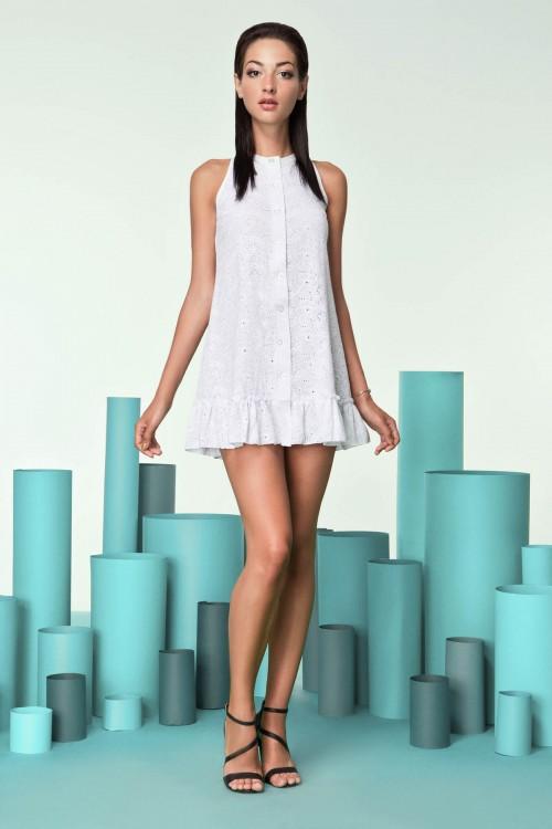 Платье 3244 белое