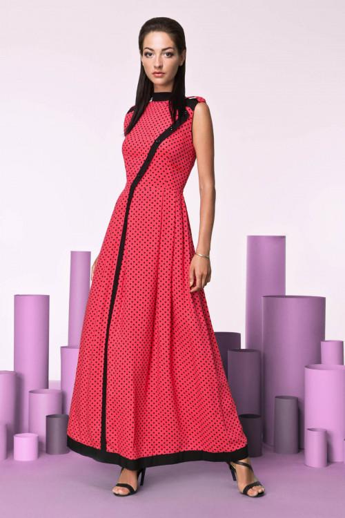 Платье 3207 коралл