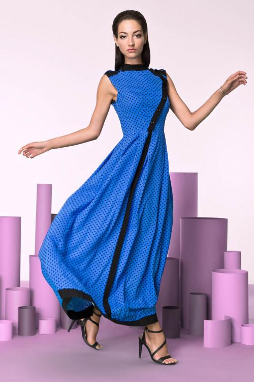 Платье 3207 синее