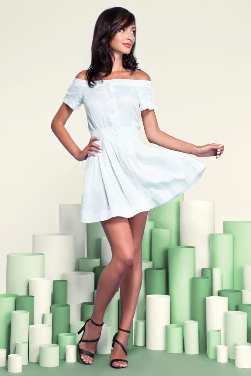Платье 3208 белое