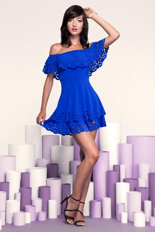 Платье 3249 электрик