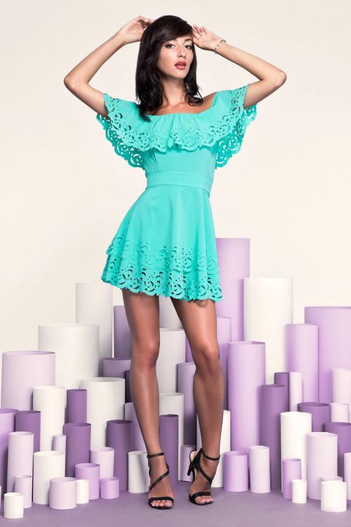 Платье 3249 ментол