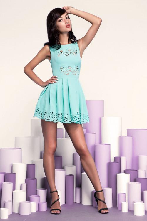Платье 3242-1 ментол