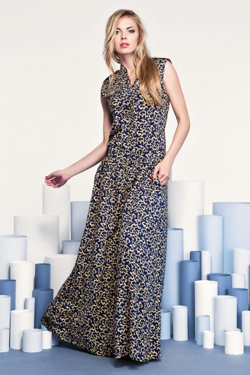 Платье 3205 желтое