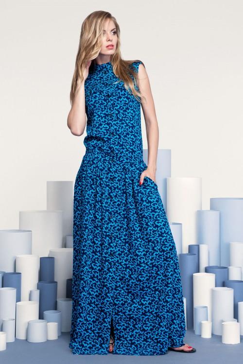 Платье 3205 бирюза