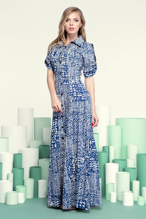 Платье 3201 орнамент