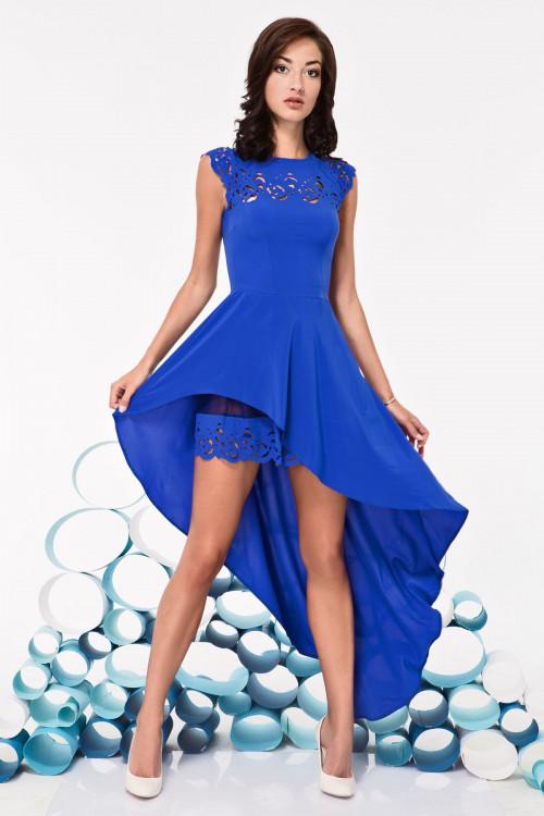 Платье 3250 электрик