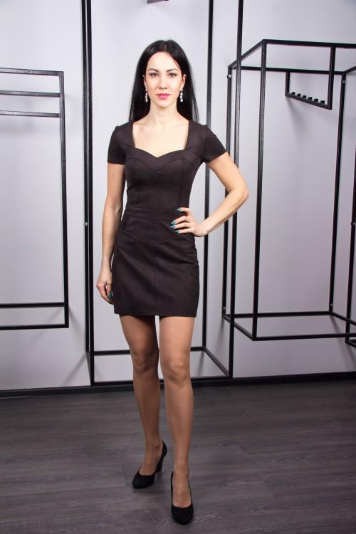 Платье 02-63 черный