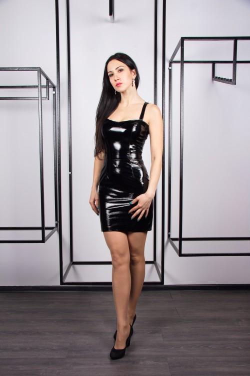 Платье 02-72 черный