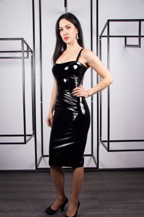Платье 02-73 черный